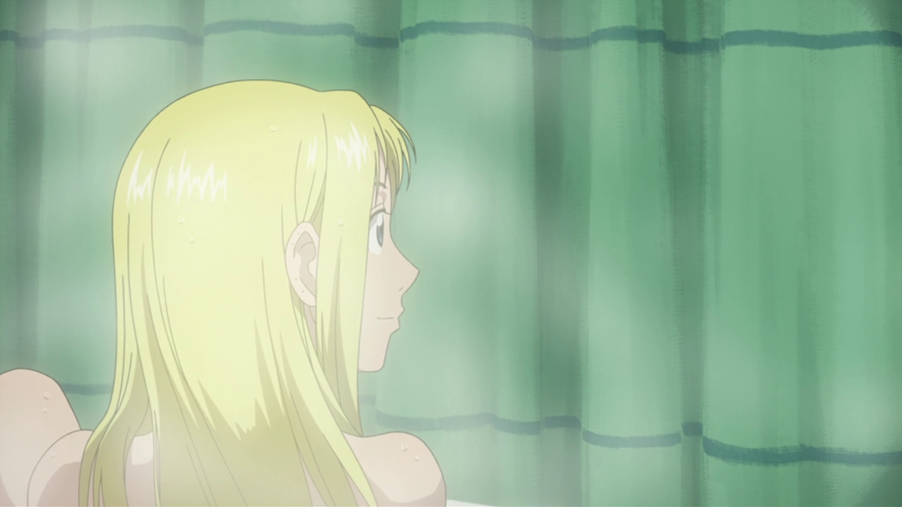 Excited Fullmetal alchemist winry nude bath