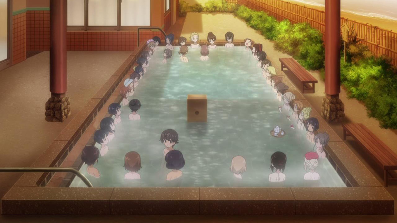 File:Girls und Panzer der Film jpg - Anime Bath Scene Wiki