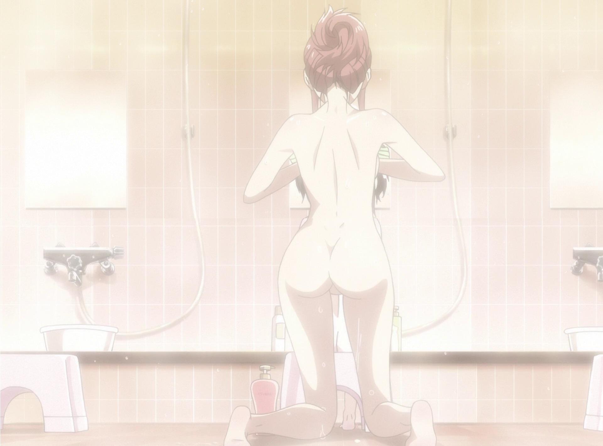 Random anime bath scenes